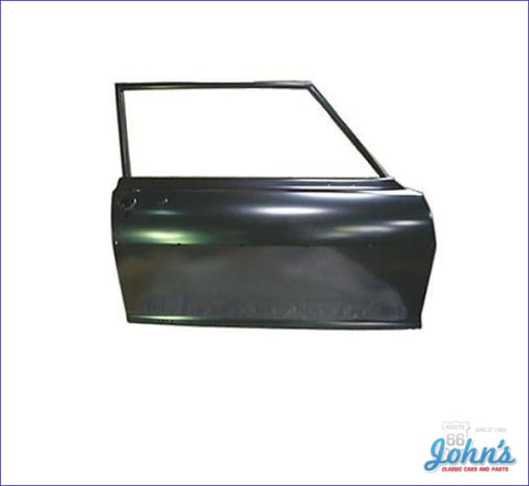 2Dr Sedan Door Shell With Window Frame. Rh (Truck) X