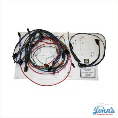 Add-On Wiring Kit For Rally Sport. Use With Classic Update Only. F1