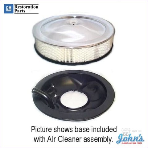 Air Cleaner Assembly Open Element With Sb Or Bb Vent Tube Oe Correct Gm Licensed Reproduction A F2 X