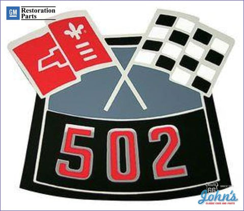 Air Cleaner Decal 502 Cross Flags A F2 F1 X