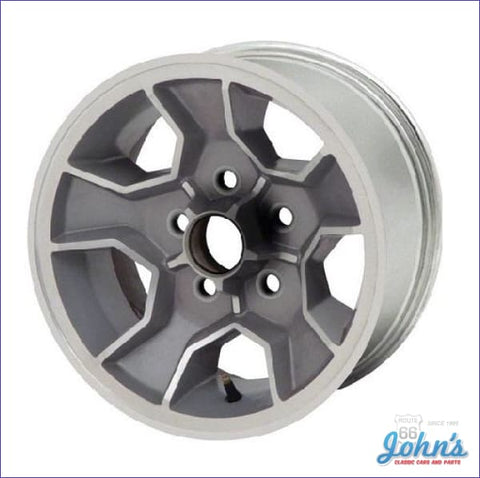 Aluminum 14X7 Wheel With Option Code N90 Each. (Os1) F2