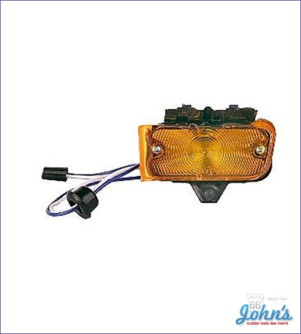 Amber Park Lamp Assembly Lh A