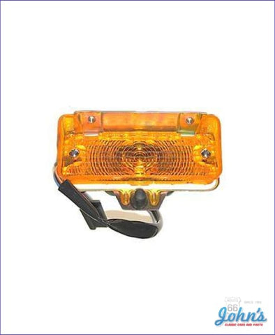 Amber Park Lamp Assembly Lh Or Rh Each X