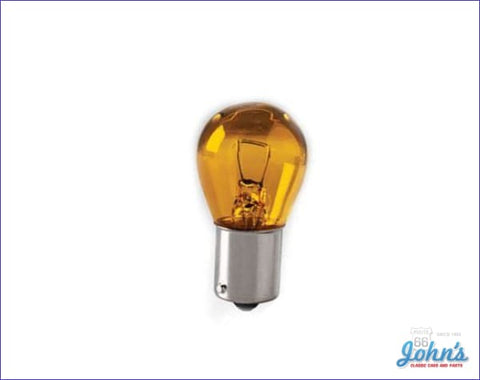Amber Park Lamp Bulb Each Gm X A F1