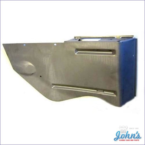 Armrest Metal Rear Panel Convertible. Lh F1