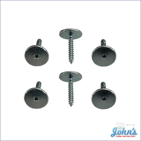 Astro Vent Duct To Cowl Screw Kit 6Pc. F1