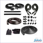 Basic Weatherstrip Kit Coupe A