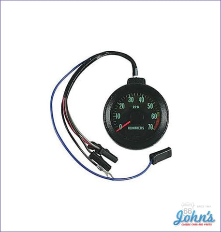 Blinker Tach With A 6000 Red Line