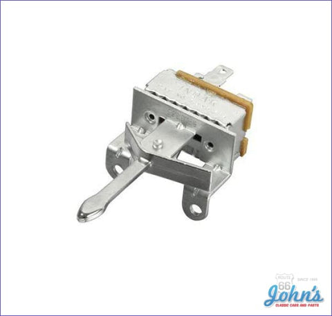 Blower Switch With Factory Ac- Gm A