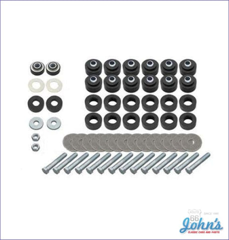 Body Bushing & Radiator Support Kit Ss Coupe With All Hardware A