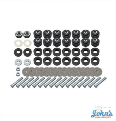 Body Bushing & Radiator Support Kit. With All Hardware. A