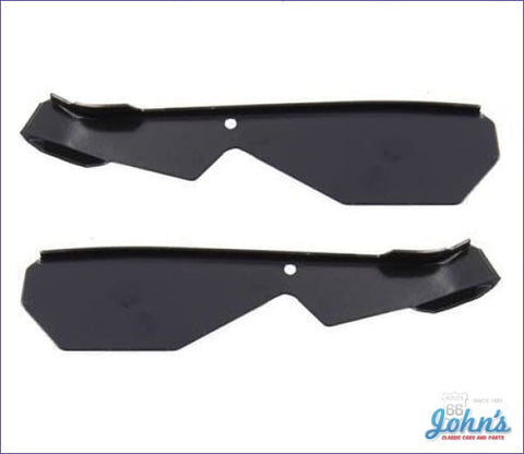Body Quarter Window Corner Reinforcement- Coupe- Pair F1