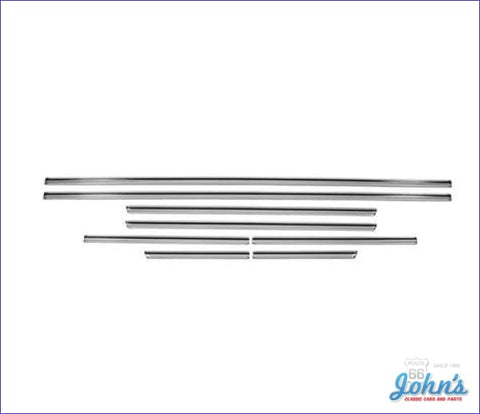 Body Side Molding Kit 8Pc For Malibu (Os1) A