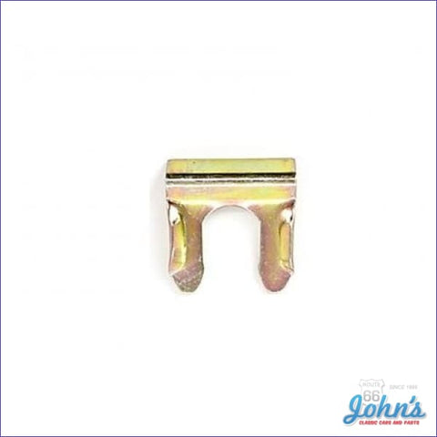 Brake Hose Clip Gold Fits Front Or Rear Hose- Each A F2 X F1