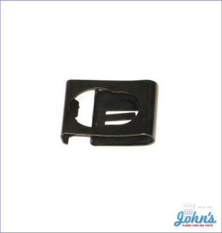 Brake Pedal Retainer Clip With Automatic Or Manual Transmission A X F1