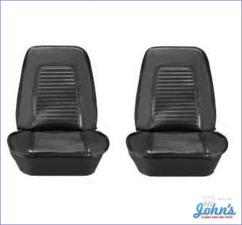Bucket Seat Covers With Standard Interior- Pair F1