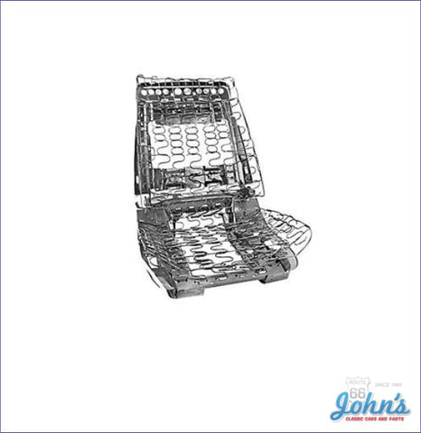 Bucket Seat Frame Assembly With Springs - Each Fits Lh Or Rh (Os5) A X