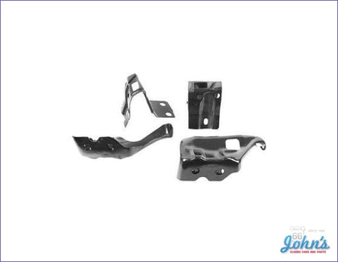 Bumper Bracket Kit Rear- 4Pc A