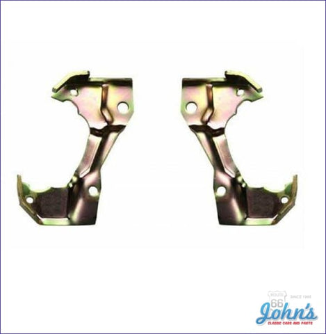 Caliper Brackets With Single Piston Calipers. Pair A X F1