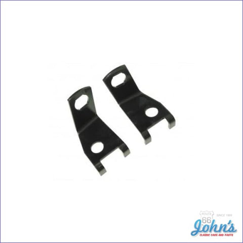 Caliper Inlet Brake Line Brackets For 4 Piston Calipers- Pair A