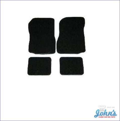Carpet Floor Mats Front And Rear. Custom Fit Set Of 4. (Os1) A