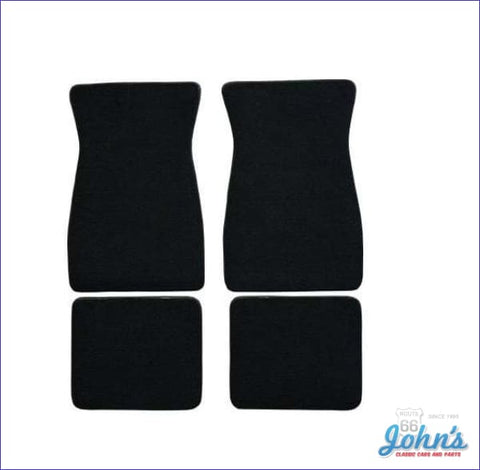 Carpet Floor Mats Front And Rear. Custom Fit Set Of 4. (Os1) F2