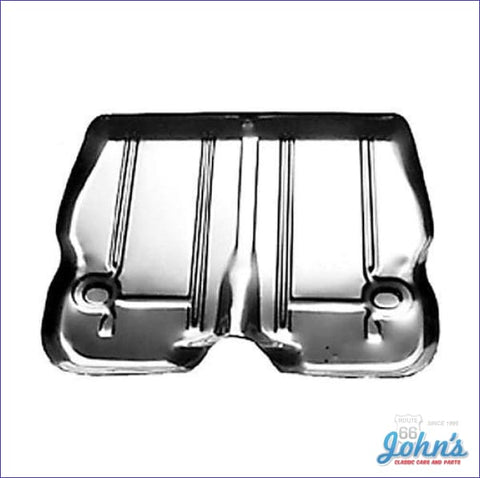 Center Trunk Floor Pan 1 Piece. (Os2) X