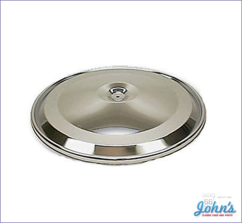 Chrome Air Cleaner Lid With Bb 396/325Hp A F1