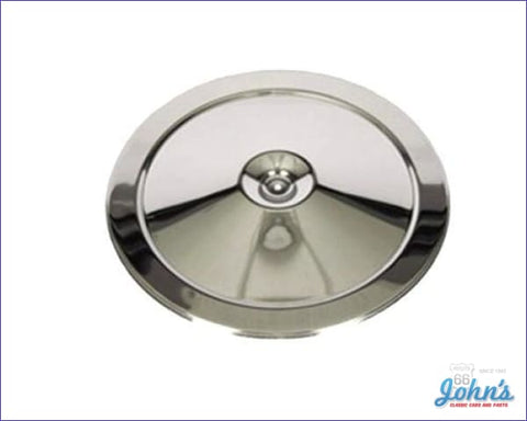 Chrome Air Cleaner Lid With Open Element A X F1 F2
