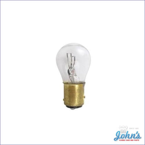 Clear Park Lamp Bulb Each. Gm. 1St Design. A