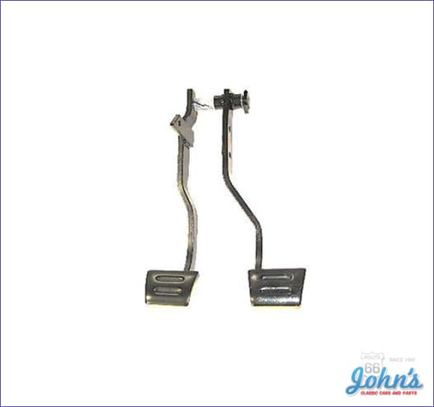 Clutch And Brake Pedal Assembly A