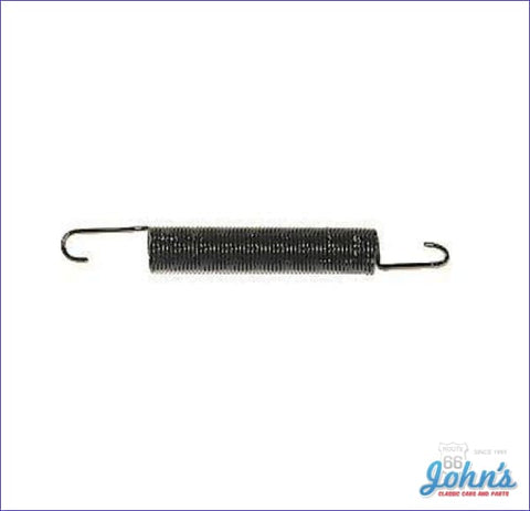 Clutch Fork / Pedal Return Spring Used Without Clutch Return Spring Bracket. A