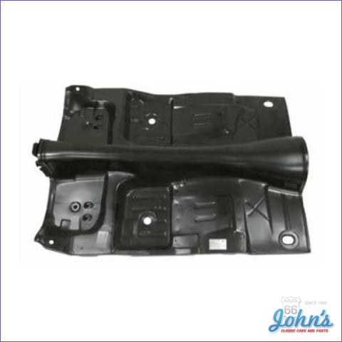 Complete Floor Pan - One Piece With Braces. Auto:  See Note For 4 Speed. (Truck) F2