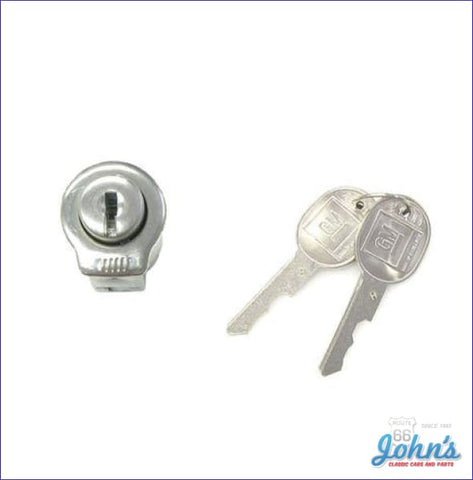Console Lock Kit With Late Style Keys A