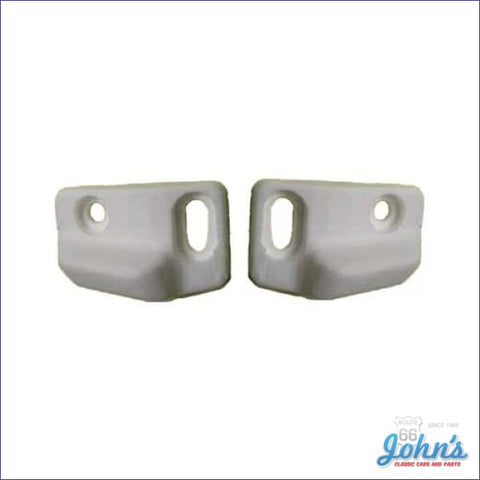 Convertible Header Bow Alignment Wedges Pair. A
