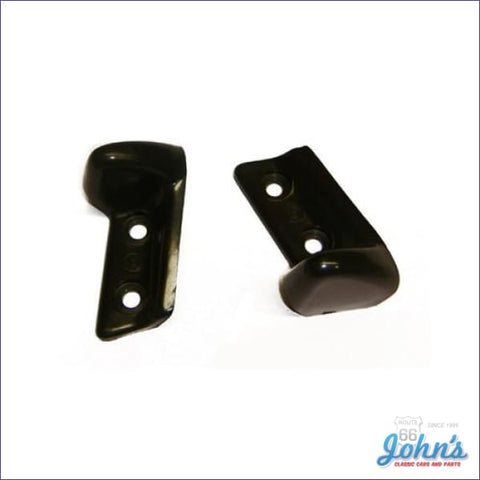 Convertible Header Bow Plastic Alignment Guides Pair. A