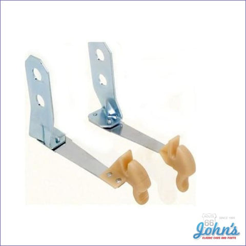 Convertible Manual Top Hold Down Latches Rear- Pair F1