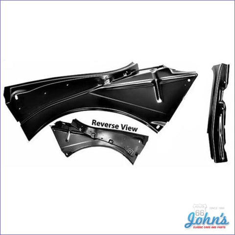 Convertible Quarter Panel Inner Bracket 2Pc. Lh. F1
