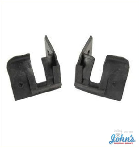 Convertible Top Rear Frame To Body Seals- Pair F1