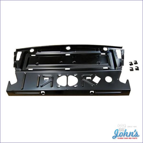 Coupe Rear Package Tray Metal Foundation. (Os3) A