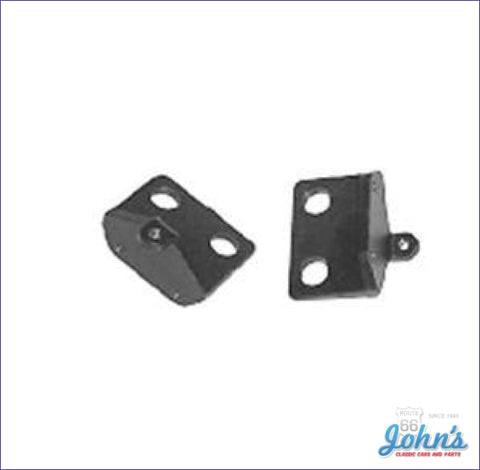 Cowl Induction Flapper Door Brackets- Pair A