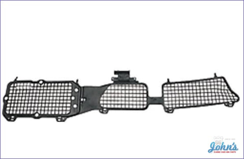 Cowl Vent Grille Panel Plastic Screen F2