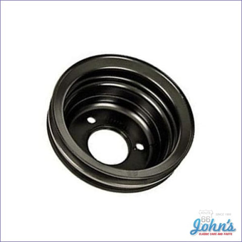 Crank Pulley Bb 2 Groove Deep W/o Ac With Ps Long Water Pump With Gm Part Number 3955291Ab A F2 X F1