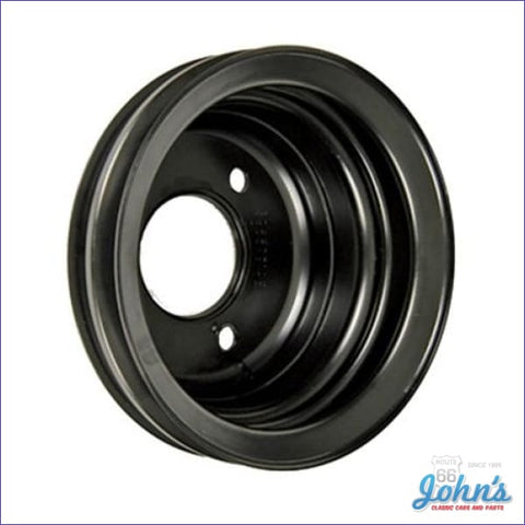 Crank Pulley Bb Without Sp Perf 2 Groove Standard W/o Ac With Ps Long Water Pump. With Gm Part