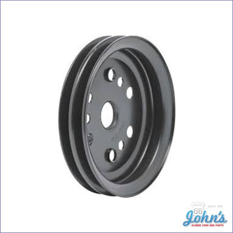 Crank Pulley Sb Except L79 2 Groove Std W/ac-W/o Ps Or W/o Ac-W/air Pump Short Wp- Gm A X