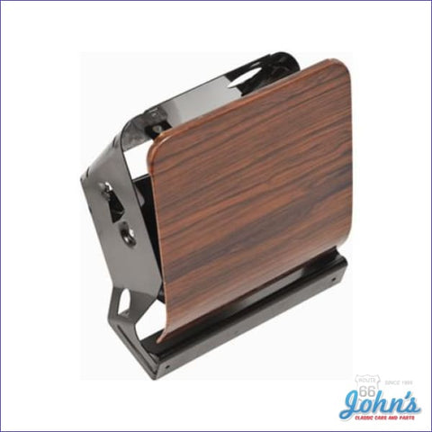 Dash Ashtray Housing Assembly- Deluxe Rosewood F1