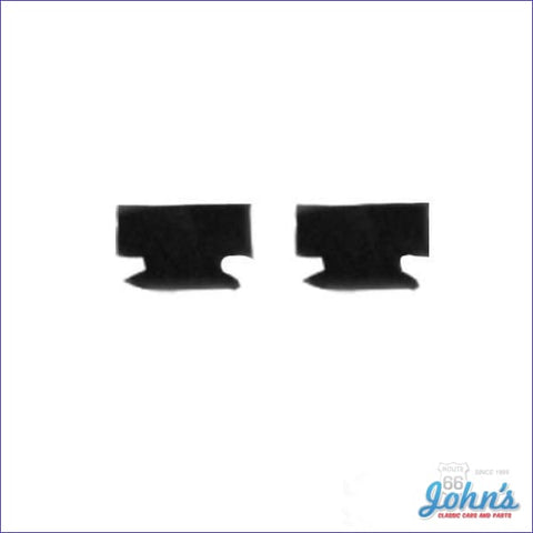 Dash Ashtray Rubber Bumpers Pair. Correct Style. F1