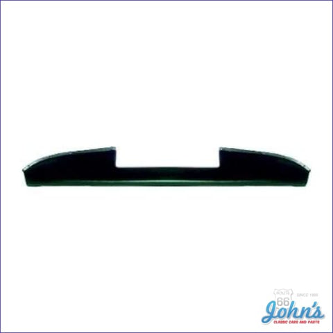 Dash Pad - Simulated Molded Vinyl. Black. **made In The Usa** (Os1) X
