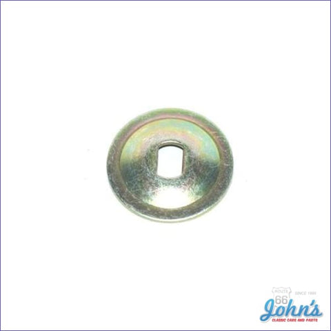 Door Glass Rear Metal Backing Washer F2