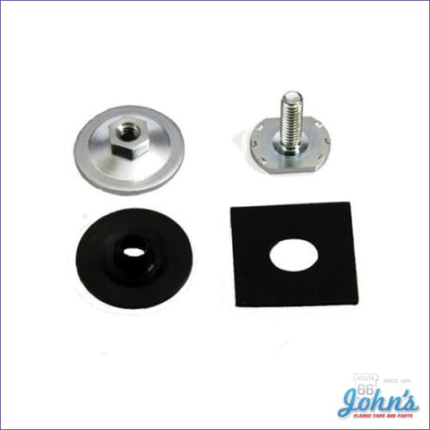 Door Glass Upper Window Channel Mounting Hardware Kit. F1